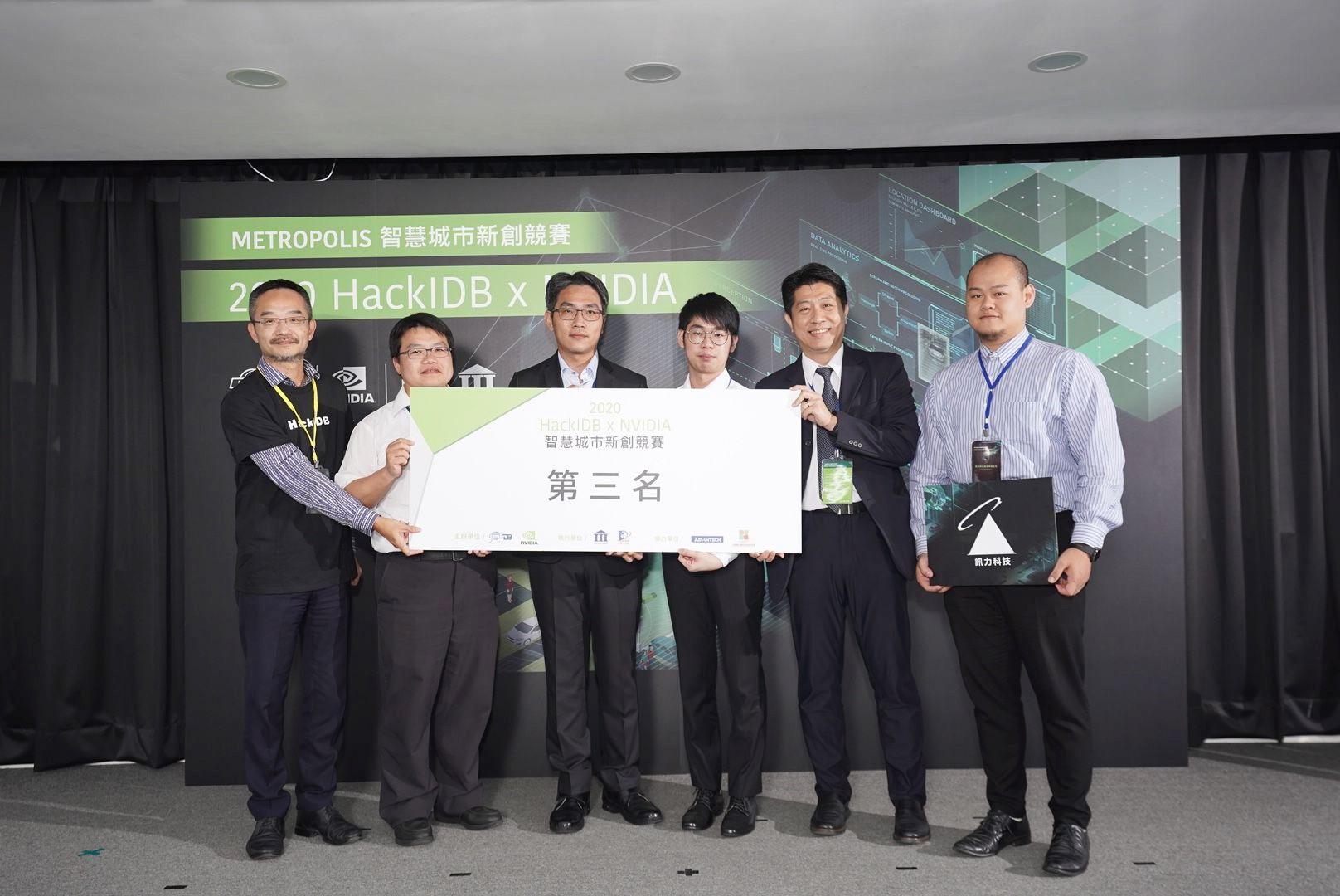 2020 HackIDB x NVIDIA (Smart City Startup Competition)